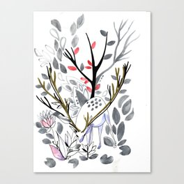 Dee of the winter Canvas Print