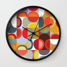 Lime squeeze Wall Clock