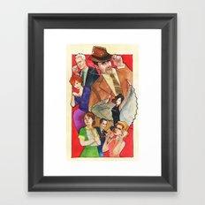 Mad, Mad World Framed Art Print