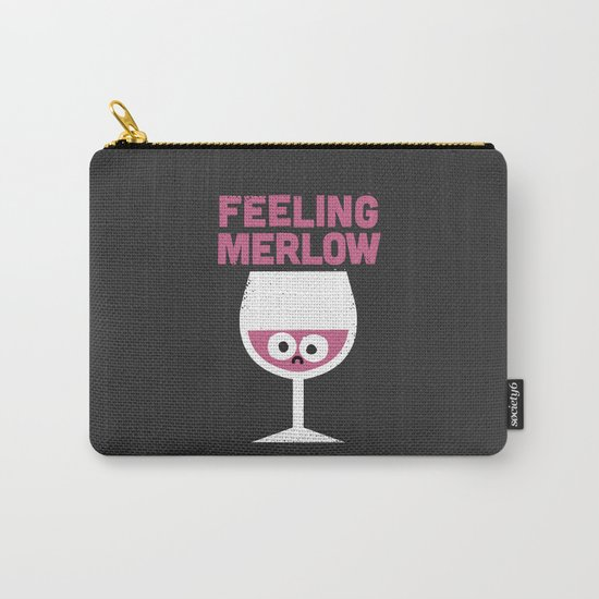 Glass Half Empty Carry-All Pouch