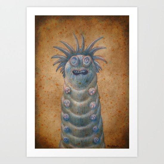 Medieval monster XVIII Art Print