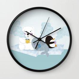 polar coffe Wall Clock
