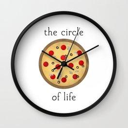 Circle of Life ... Pizza Wall Clock