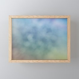 Relax of Blue Framed Mini Art Print