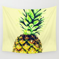 Delightful pineapple Wall Tapestry