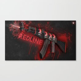 Machine Gun 14 Canvas Print