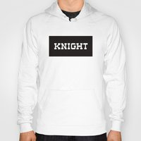 knight Hoodies featuring KNIGHT by Vancouver Neighbourhoods Project