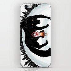 Little Red Riding Hood and the Big Bad Wolf iPhone & iPod Skin