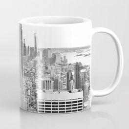 New York City, Manhattan (Black & White) Coffee Mug