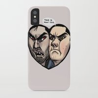 sterek iPhone & iPod Cases featuring Sterek by lolbatty