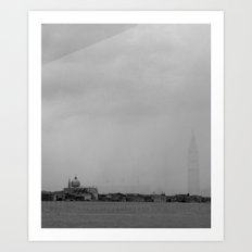 San Marco reflected in Giudecca Art Print