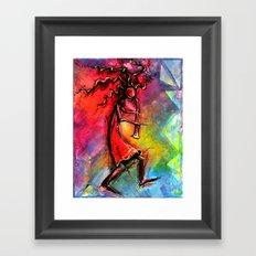 KooKooPelli Framed Art Print