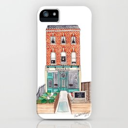 London: Wallace & Co. by Charlotte Vallance iPhone Case