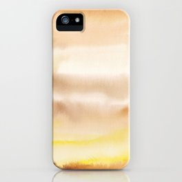 180815 Watercolor Rothko Inspired 2| Colorful Abstract | Modern Watercolor Art iPhone Case