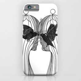 The cage of love. iPhone Case