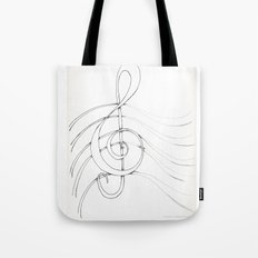 Clef Point Tote Bag