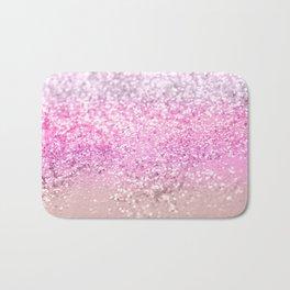 Unicorn Girls Glitter #21 #shiny #decor #art #society6 Bath Mat