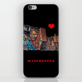 Colourful MANchester iPhone Skin