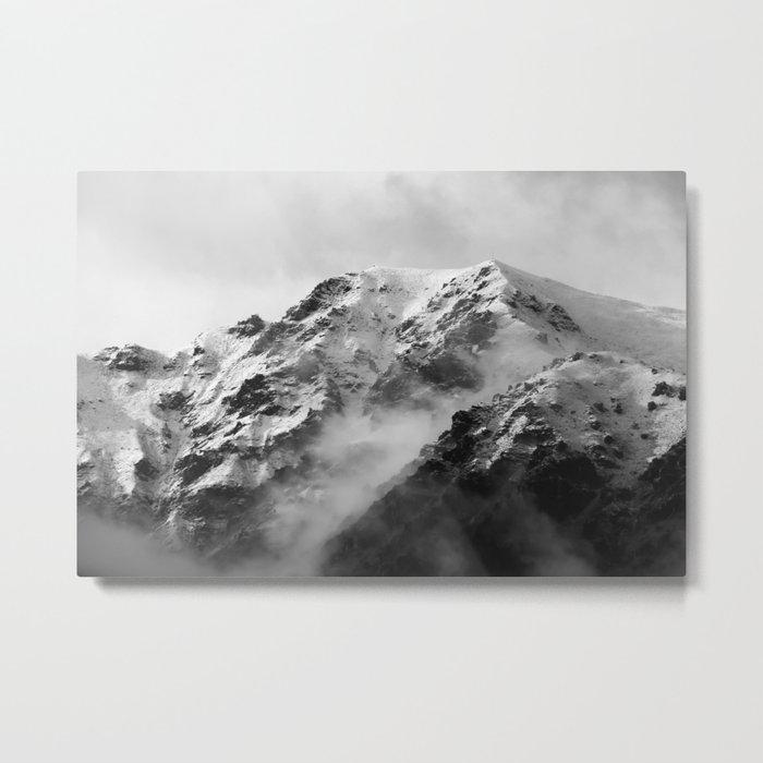 Grandview Range, Wanaka, New Zealand Metal Print