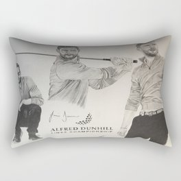 Jamie Dornan- Alfred dunhill/links championship 2015 Rectangular Pillow