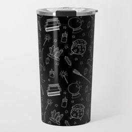 Witchy pattern Travel Mug