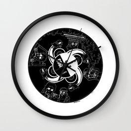 Mr Tambourine man Wall Clock