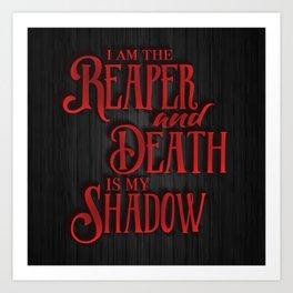 The Reaper - Red Rising Art Print