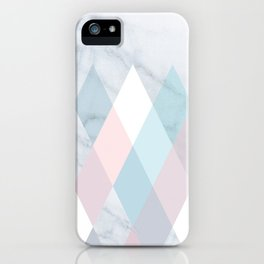 Diamond Peaks on Marble iPhone Case