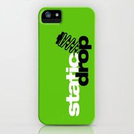 Static drop v7 HQvector iPhone Case