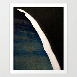 Waterfall at Dusk Art Print