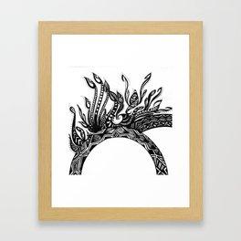 Zen Design Framed Art Print