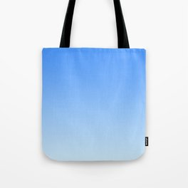 Sky Blue Gradient Tote Bag