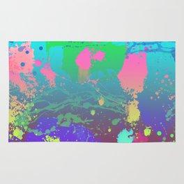 Abstract Urban Painting - Aquarium & Seabed Rug