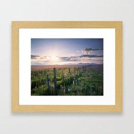 Camas Prarie Framed Art Print