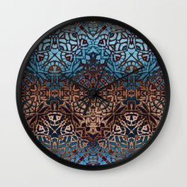 Ethnic Tribal Pattern G329 Wall Clock