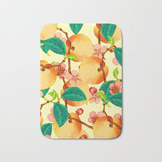 Summer fruit pattern #society6 Bath Mat