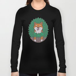 Just hangin' out here.. (Inu Series) Long Sleeve T-shirt