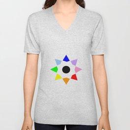 Stars 27 - multicolor Unisex V-Neck