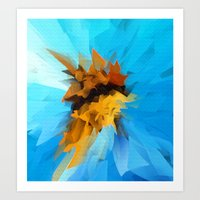 butterfly Art Prints featuring Butterfly by Paul Kimble