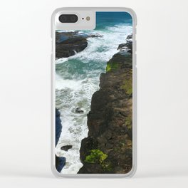 Picturesque Oregon Coast Clear iPhone Case