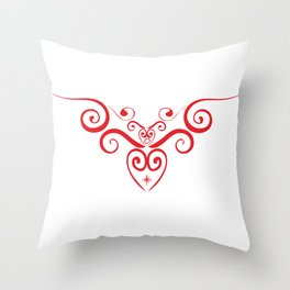 ANGEL'S HEART Throw Pillow