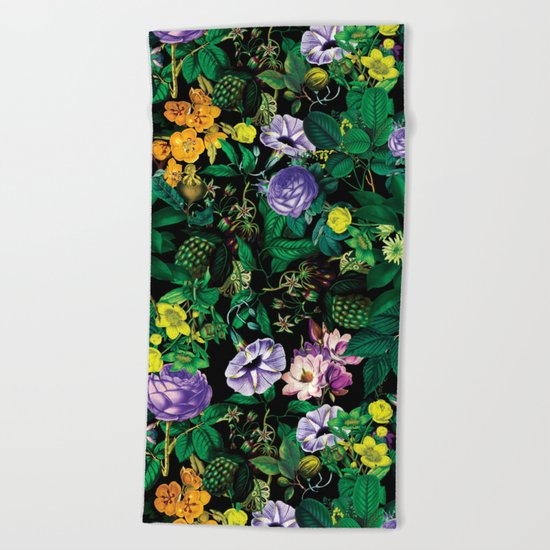 Future Nature II Beach Towel