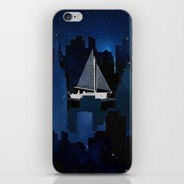 City Sailing iPhone Skin