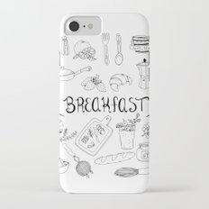 Breakfast iPhone 8 Slim Case