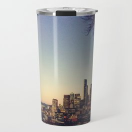 Seattle: City Lights Travel Mug