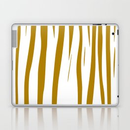 gold lines on white. gold eth. lines Laptop & iPad Skin