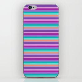 Stripes Colorul Mood iPhone Skin
