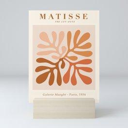 Exhibition poster Henri Matisse-Galerie Maeght-Paris 1934. Mini Art Print