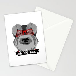 Oh My Dog Stationery Cards
