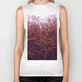 Red and Yellow Goldenrod Biker Tank